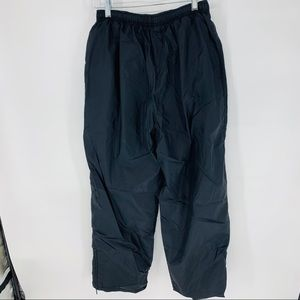 Nike jersey lined woven nylon track pants